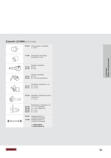 thumbnail of Zubehör-LE-Mini