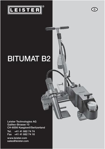 thumbnail of bitumat-b2-bedienungsanleitung