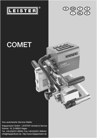 thumbnail of comet-bedienungsanleitung
