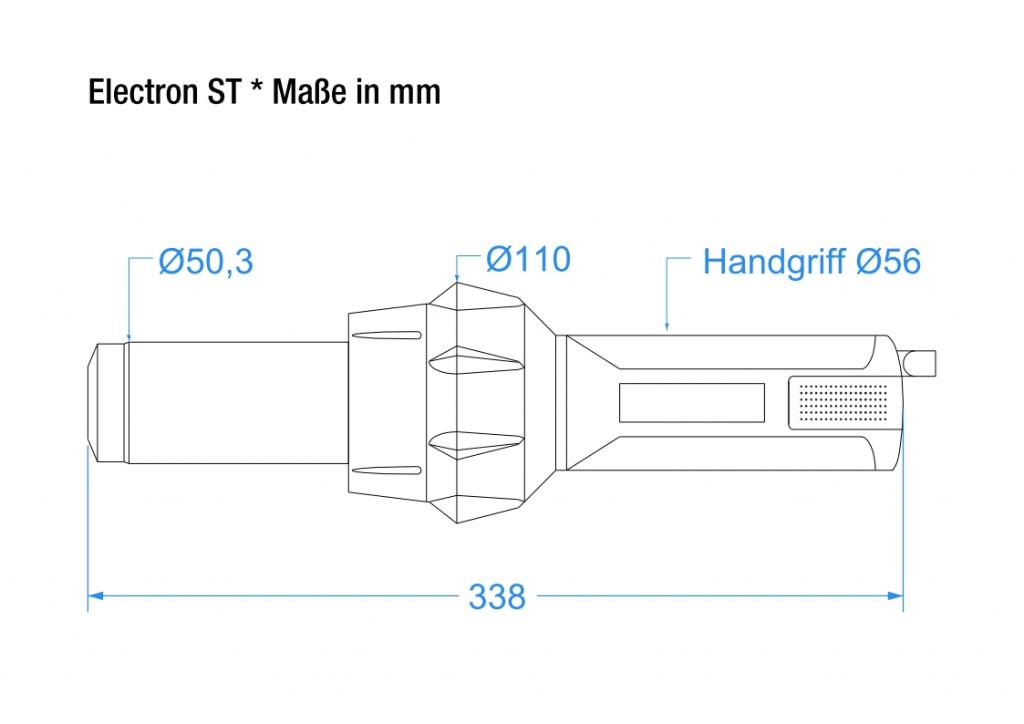 Electron ST - technische  Zeichnung