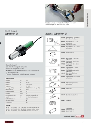 thumbnail of electron-st-zubehoer