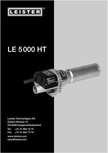 thumbnail of le-5000-ht-bedienungsanleitung