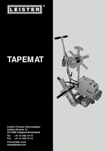 thumbnail of tapemat-band-bedienungsanleitung