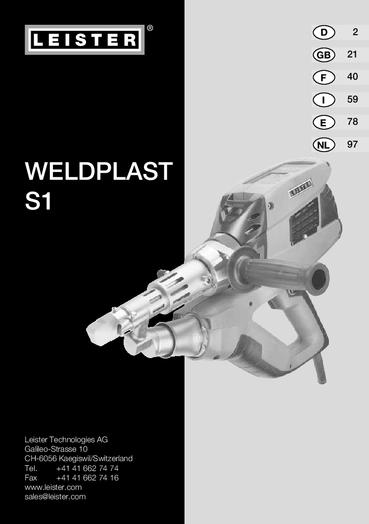 thumbnail of weldplast-s1-bedienungsanleitung