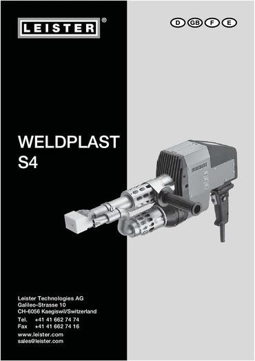 thumbnail of weldplast-s4-bedienungsanleitung